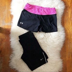 Women's  workout athletic shorts